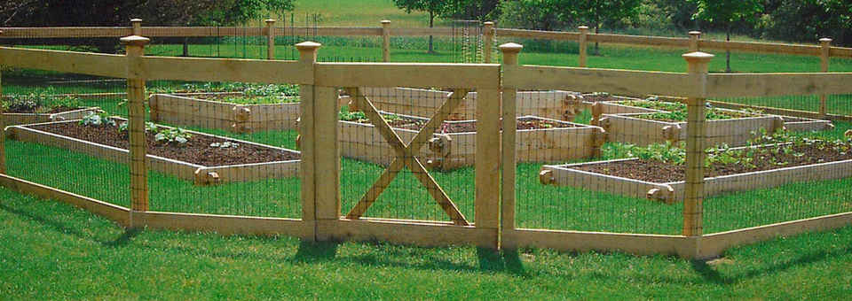 Elegant Garden Fences